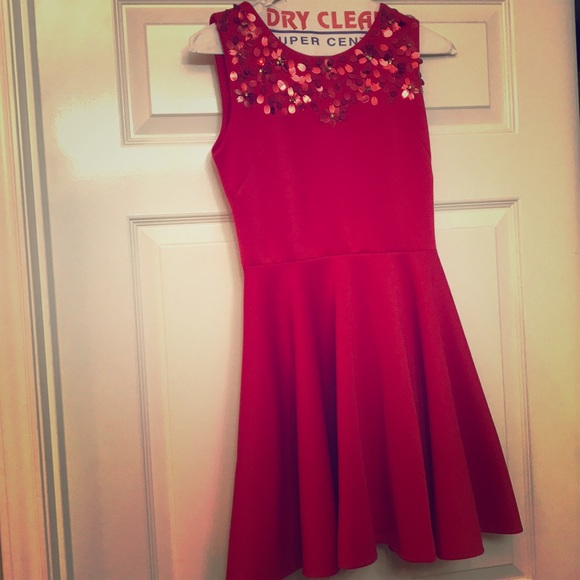 Nordstrom Dresses & Skirts | Fabulous Red Cocktail Dress Size 12 ...
